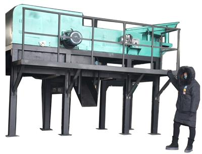 Jarrun - Model ECS1000 - Iron Copper Cable Recycling Machine