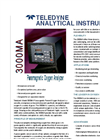 Paramagnetic - Model 3000M Series - Percent Oxygen Analyzers Brochure