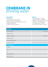 Drinking Water Product Sheet