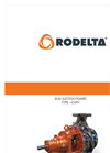 Rodelta CNP+ (OH1) Overhung End Suction, Volute Casing, Radially Split Pump - Brochure