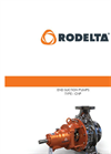 Rodelta CNP (OH1) Over Hung End Suction, Volute Casing, Radially Split Pump - Brochure
