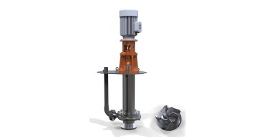 Rodelta - Model TCE (VS5) - Vertically Mounted True Cantilever Pump