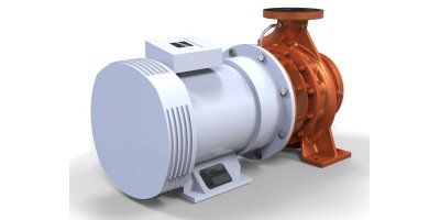 Rodelta - Model WNC+ (OH1) - Closed Coupled with Volute Casing, Radially Split Pump