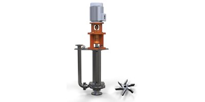 Rodelta - Model TCF (VS5) - Vertically Mounted True Cantilever Pump