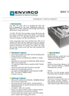 Envirco - Model MAC 10 LEDC - Fan Filter Unit Brochure