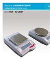 Model EU-C LCD Series - Load Cell Technical Balances Brochure