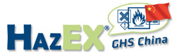 HazEX - Version GHS China - Software for the Creation & Distribution of Safety Data Sheets