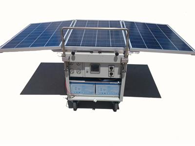 Tecimer - Model RO300S - Mobile Solar RO Water Purification Unit