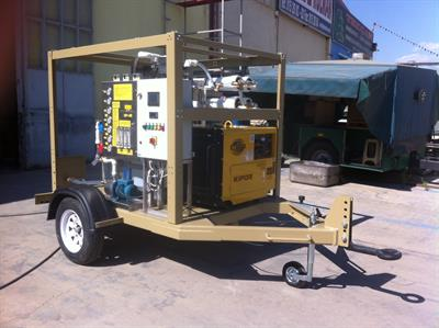 Mobile RO Water Purification System- with trailer-4