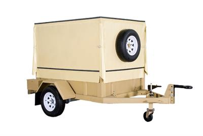 Mobile RO Water Purification System- with trailer-1