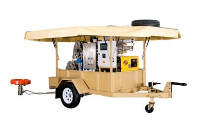 Mobile RO Water Purification System- with trailer-0