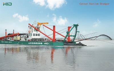 HID - Model 5522P - Cutter Suction Dredger