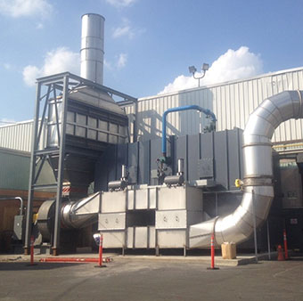 TKS - Regenerative Thermal Oxidizers (RTO)