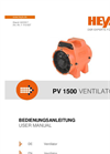 Heylo - Model PV 1500 Combi - Dust Extraction System - Datasheet