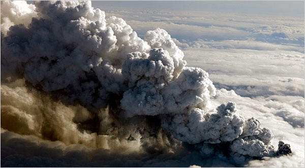 Unpredictable Volcanic Ash Plumes Restrict Air Traffic