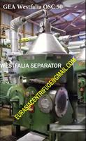 Westfalia separator - Model OSA20 - Refurbished Westfalia Separators and spares