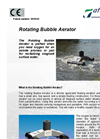 Rotating Bubble Aerator (RBA) Brochure