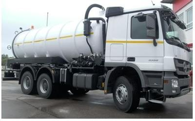 Custom-made Vacuum–Jetting-Flushing-Tank-Truck