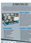 Ultra Filters (UF) Brochure