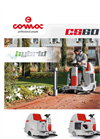 Comac - Model CS60 - Ride-On Sweeping Machines Brochure