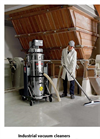 Comac - Model CA30 S & CA30 SS - Three-Phase Industrial Vacuum Cleaners Brochure