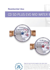 MecTo - Model CD SD Plus EVO - Dry Dial Single Jet Water Meter Brochure