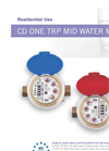 MecTo - Model CD ONE TRP - Sealed Register and Dry Dial Single Jet Water Meter Brochure