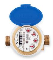 MecTo - Model CD ONE TRP - Sealed Register and Dry Dial Single Jet Water Meter