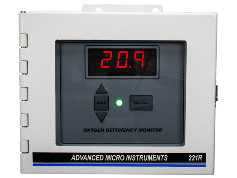 AMI - Model 221R - Standard Oxygen Deficiency Monitor