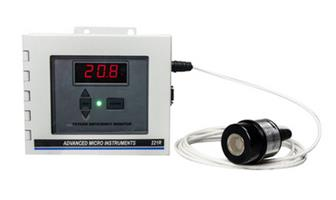 Model 221R w/Remote - Oxygen Deficiency Monitors