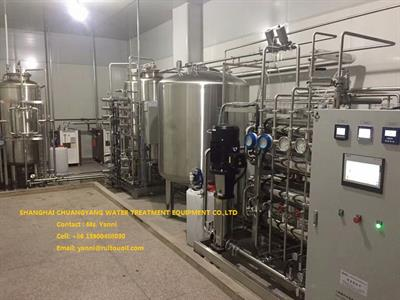Water Treatment Equipment /Reverse Osmosis Water Purification Plant-3