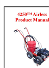 Model 4250 - Airless Striping Machine Manual