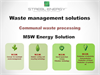 MSW Waste-to-Energy Plant Brochure