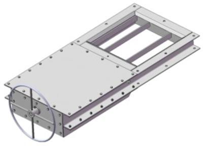 Slide Gate with Control