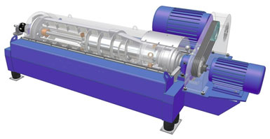 DecaPress - Model DP - Two-Phase Decanter Centrifuge
