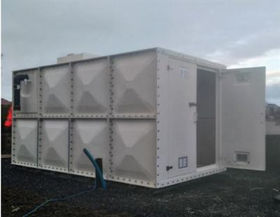 Nicholson - Model GRP - Combined Hot Press Sectional Enclosures