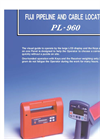 Fuji - Model PL-960 - Metal Pipe and Cable Locator Brochure