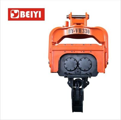 Beiyi - Model BY-VH250 - Excavator hydraulic vibro hammer pile driver for sheet piles