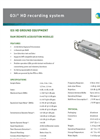 Inova - Model G3iHD - Flexible Cable-Based Recording System Brochure