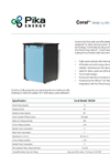 Coral Smart - Model 14A - SB14A - Deep-Cycle Storage Battery Brochure