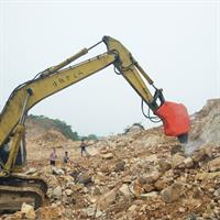 Mining work equipment vibrating ripper rock hammer hydraulic ripper for 24-35 ton excavator-3