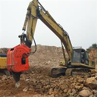 Mining work equipment vibrating ripper rock hammer hydraulic ripper for 24-35 ton excavator-2