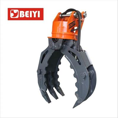 Lydite - Model BYKL 14 - Demolition heavy duty wood grab hydraulic excavator rotating grapple