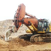 Heavy duty single shank excavator ripper-2