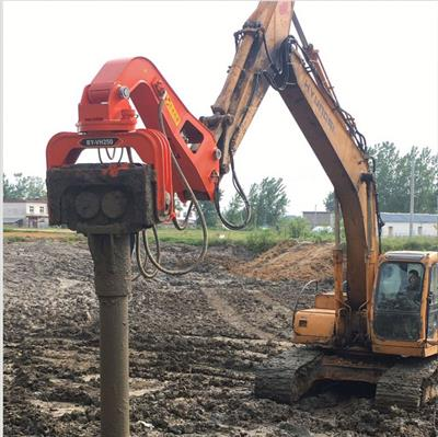 lydite - BY-VH330 - hydraulic vibrotary hammer pile driver