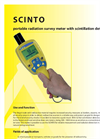 Scinto - Mobile Dose Rate Measurement Meter Brochure