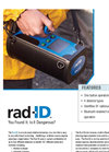D-tect - Model Rad-ID - Handheld Radioisotope Identifier - Brochure