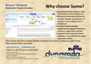 Sumo - Full Featured Wastewater Process Simulator Software Technical Specifications Brochure