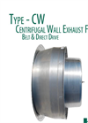 American Coolair - Model CWDA - Direct Drive Centrifugal Wall Fans Brochure