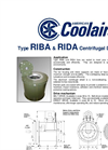 American Coolair - Model RIBA - Belt Drive Round In-line Centrifugal Duct Fan Brochure